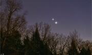 چطور مقارنه مشتری و زحل را در آسمان شب ببینیم؟