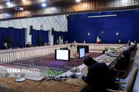 جلسه شورای عالی هماهنگی اقتصادی سران سه قوا
