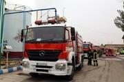 مهار آتشسوزی سنگین یک کارخانه نفتی در مشهد