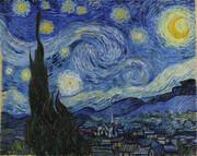 شبهای پرستاره ونگوگ از پنجره آسایشگاه روانی