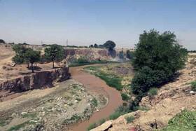 «جعفرآباد» را آب رودخانه کن آباد کرد