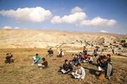 تصاویر | بحران قحطی گاز و اینترنت در روستاهای همجوار بجنورد