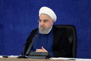روحانی: تا روزی که رای مردم همهکاره است، شکست نمیخوریم
