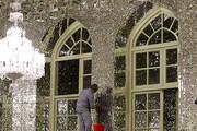 تصاویر | هنر آینهکاری ایرانی در حرم نورانی رضوی