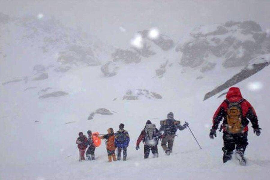 كوهنوردي - برف