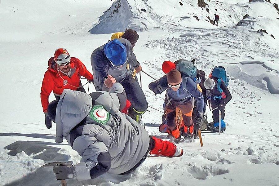 حوادث - کوهنوردی - کوهنوردان