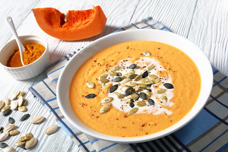 سوپ كدوحلوايي - آشپزي - غذا - تغذيه