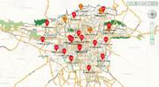 وضعیت قرمز در تهران | از تردد غیرضروری بپرهیزید؛ هوا برای همه آلوده است | نقشه آلودگی هوای مناطق تهران را ببینید