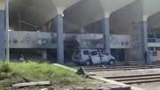 تصاویر انفجار در فرودگاه «عدن» همزمان با ورود کابینه جدید دولت مستعفی یمن   تصاویر پس از انفجار