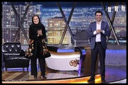 لحظه ورود بانوی سینمای ایران به استودیو همرفیق | رفتار قابل ستایش شهاب حسینی را ببینید