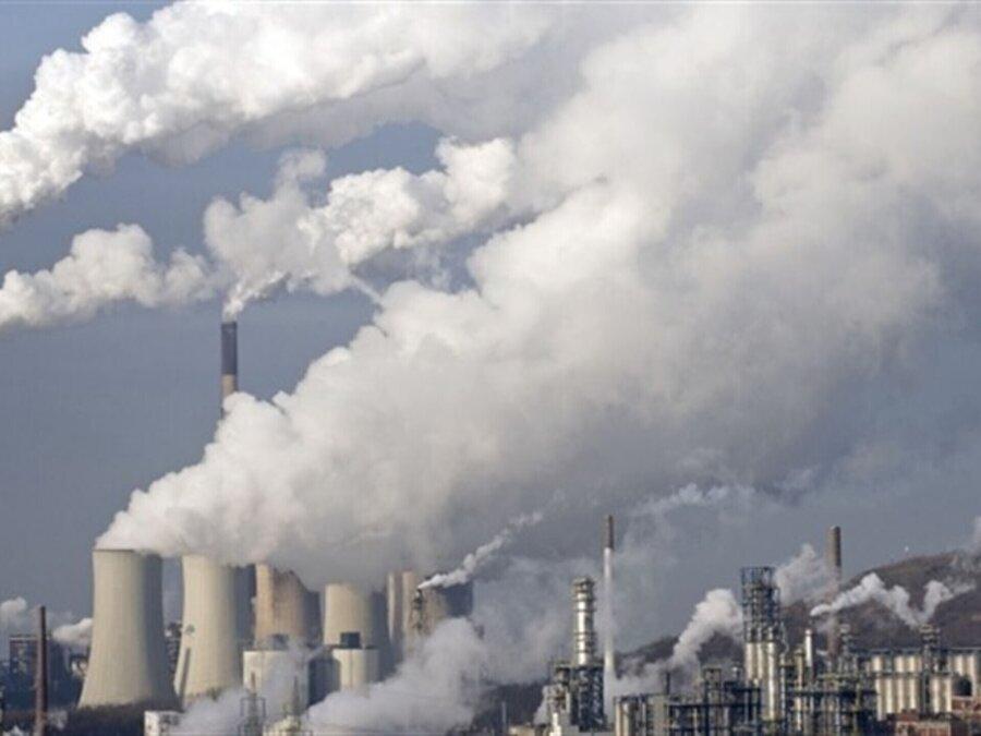 آلودگي هوا - صنايع