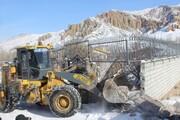 چهار بنای غیرمجاز در اراضی کشاورزی آبیک تخریب شد