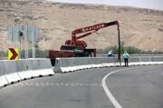 ارتقای امنیت آزادراههای زنجان با نصب نیوجرسی و ایجاد روشنایی