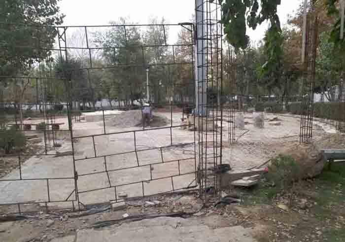 سازه مقبره الشهدا در محله مطهری ایجاد میشود