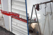 کشتارگاه زیرزمینی غیرمجاز در تبریز پلمب شد
