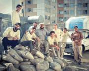 بازسازی خانه در حال ریزش به همت گروه جهادی