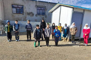 ماجرای فروش یک مدرسه روستایی   دانشآموزان کانکسنشین شدند