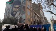 ویدئو | رونمایی از دیوارنگاره اولین شهید مدافع حرم منطقه ۱۹