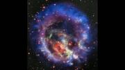 شکلهای حیرتآور در میان پرتوهای یک ستاره نوترونی