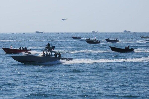 رزمایش دریایی جزیره فارسی