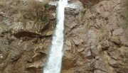 ویدئو | آبشار منطقه گردشگری رابر یخ زد