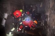 نجات شش نفر از آتشسوزی در بلوار پیروزی مشهد