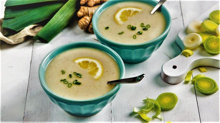 سوپ تره فرنگی - آَشپزی - تغذیه