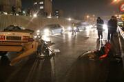 تصاویر | یک کشته و یک مجروح در تصادف بزرگراه خرازی اصفهان