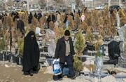 سودجویی از شهروندان داغدیده در وادی رحمت تبریز |  ارسال بنر تسلیت و سبد گل بدون اطلاع خانواده عزادار
