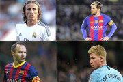 انتخاب بهترین بازیساز یک دهه اخیر فوتبال | کوین دیبروین بهترین پلیمیکر ۲۰۲۰