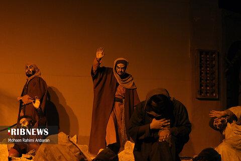 نمایش سوگواره نگین شکسته در مشهد