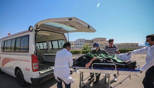 انتقال ۱۳ مصدوم زمینلرزه ۴.۵ ریشتری سیسخت به مراکز درمانی