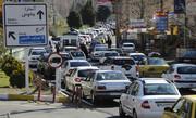ترافیک سنگین در جاده چالوس به سمت استان قرمز کرونا | افزایش ۴.۵ درصدی تردد در جادهها