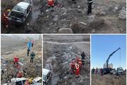 یک کشته و پنج مصدوم در واژگونی پراید در بجنورد
