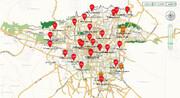 غروب خفهکننده پنجشنبه ۲۵ دی ۱۳۹۹ | هوای تهران همچنان در وضعیت قرمز