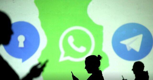 سیگنال و واتس اپ و تلگرام