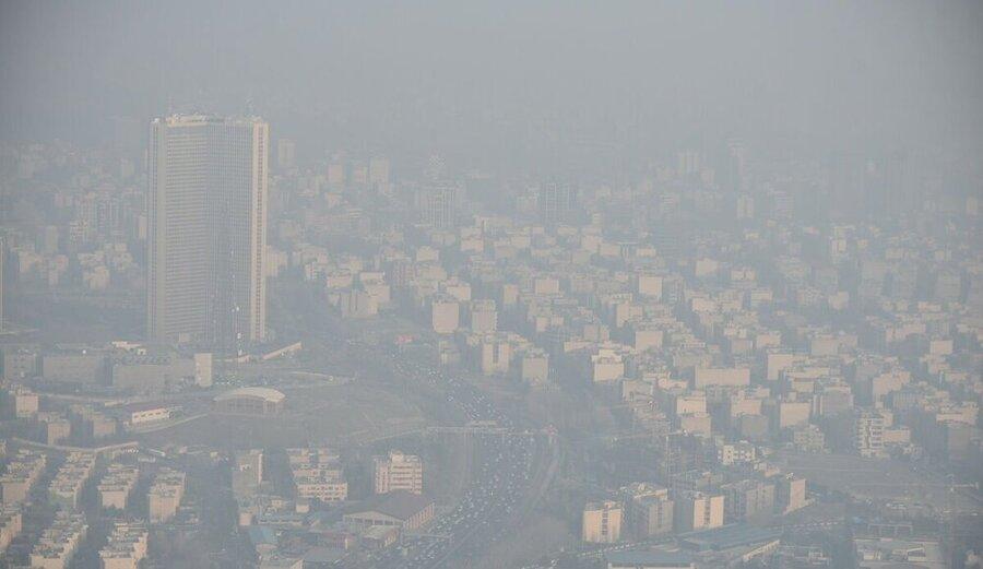 آلودگی هوا - تهران