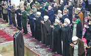 تصاویر | نخستین نماز جمعه قم پس از ۲۴ هفته