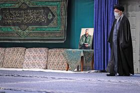 دومین شب عزاداری ایام فاطمیه در حسینیه امام خمینی(ره)