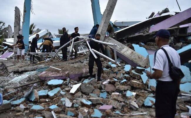 زلزله اندونزی