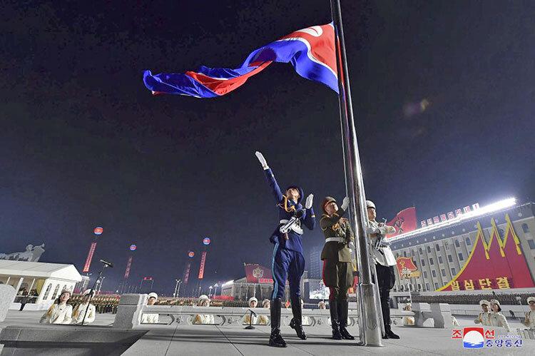 رژه نظامی ارتش کره شمالی