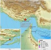زلزله ۵.۵ ریشتری در کنگ هرمزگان | تصویر کانون زمینلرزه | احتمال خسارت چقدر است؟ | سه بیمارستان در آماده باش کامل