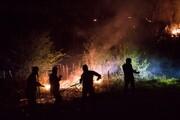 ۱۵ هکتار از جنگلهای ماسوله طمعه حریق شد
