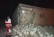 مصدومیت یک نفر در حین فرار در زلزله کنگ