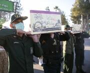 تشییع و تدفین ۵ شهید گمنام در فارس