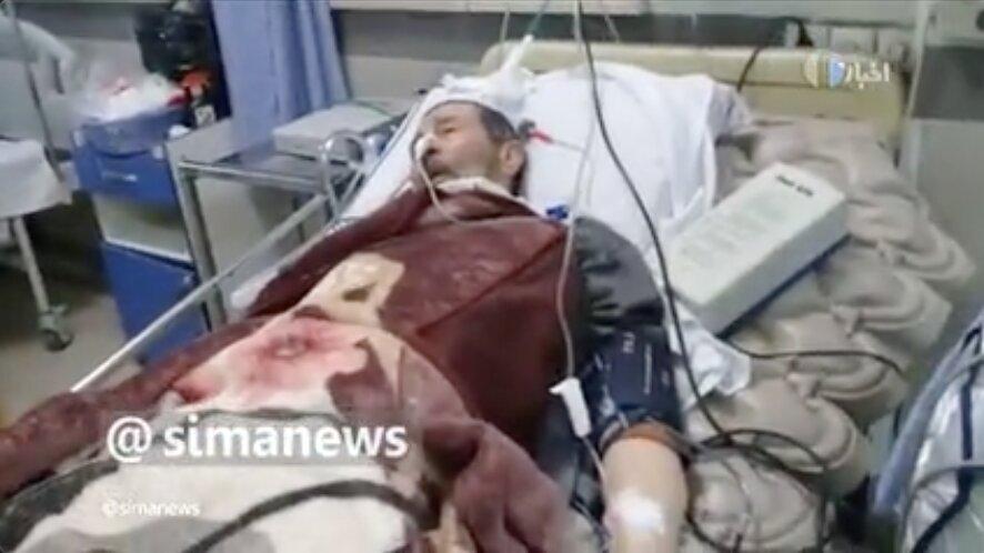 حریرچی - بستری بیماران کرونایی و غیرکرونایی در بیمارستان