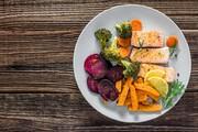 اینفوگرافی ا راهنمای تغذیه روزانه ا بشقاب غذای سالم چه شکلی دارد؟