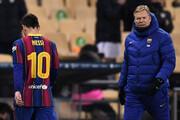 ویدیو | تاوان ضربه مشت کاپیتان بارسا | محرومیت سنگین در انتظار مسی
