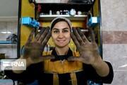 تصاویر | اولین بانوی مکانیک در تبریز