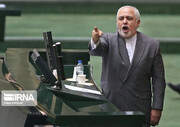 مجلس از پاسخ ظریف قانع نشد | سوال از وزیر امور خارجه درباره تلاش برای مذاکره با آمریکا سه هفته بعد از شهادت سردار سلیمانی